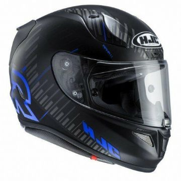 HJC RPHA 11 Epik Trip - Black / Blue Full Face Motorbike Motorcycle Helmet Large